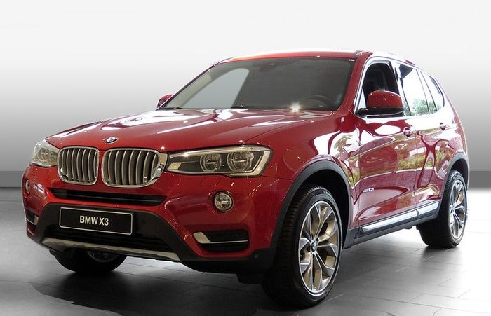BMW X3 xDrive20d X-Line HUD  Panoramad Leder